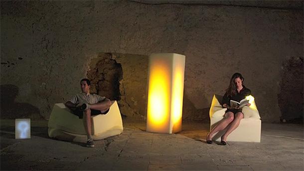 Furniture design: HAZ PUFF! 'yo creo que sabe algo...'