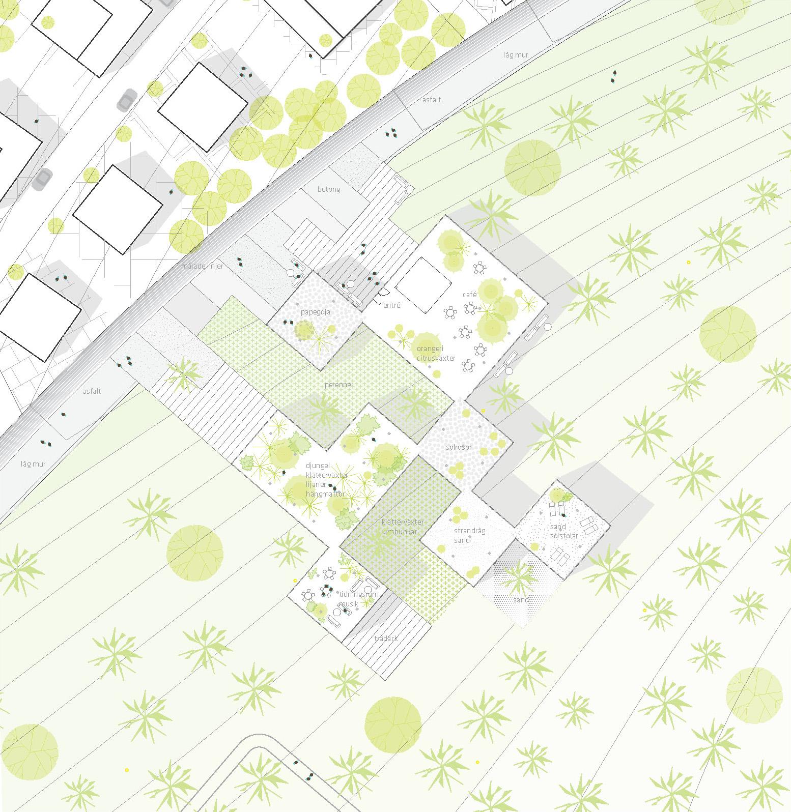 Urban planning: Stockholmsporten master plan