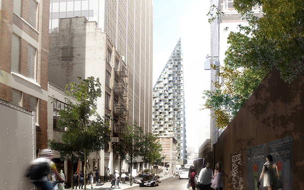 High-rise architecture: West 57th by BIG