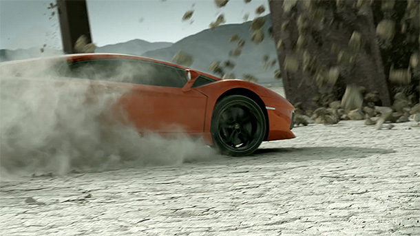 Lamborghini Aventador commercial by Sehsucht