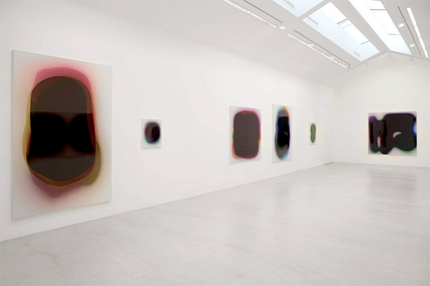 Blob paintings by Peter Zimmermann