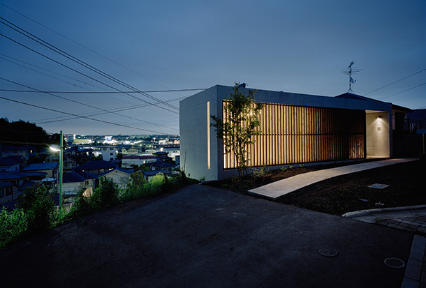 Concrete in architecture and design: House in Atsugi