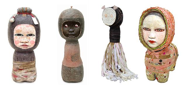 Mariana Monteagudo's strange dolls