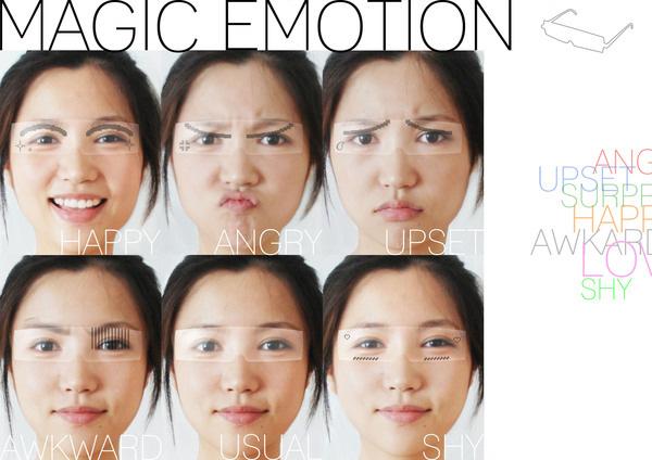 'Magic Emotion' concept eyewear by Yunfan Tan