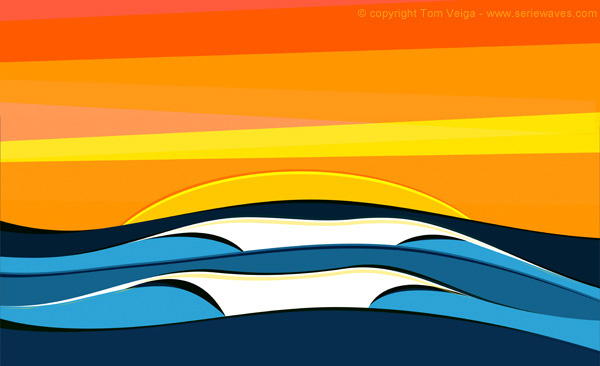 'Serie Waves' by Tom Veiga