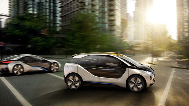 The BMW i3 Concept & BMW i8 Concept