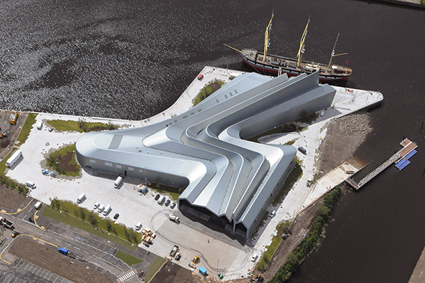 Glasgow Riverside Museum of Transport by Zaha Hadid Architects