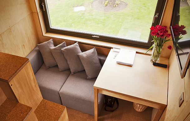 Compact living: The Cube Project