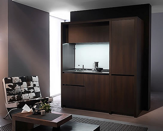 Compact living:: Compact kitchens by Kitchoo