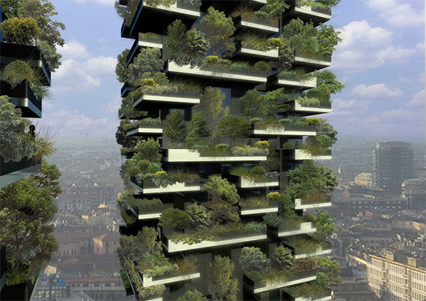 Bosco Verticale (Vertical Forest) by Stefano Boeri Architetti