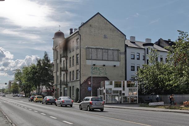 RAKE visningsrom (RAKE Showroom) in Trondheim, Norway