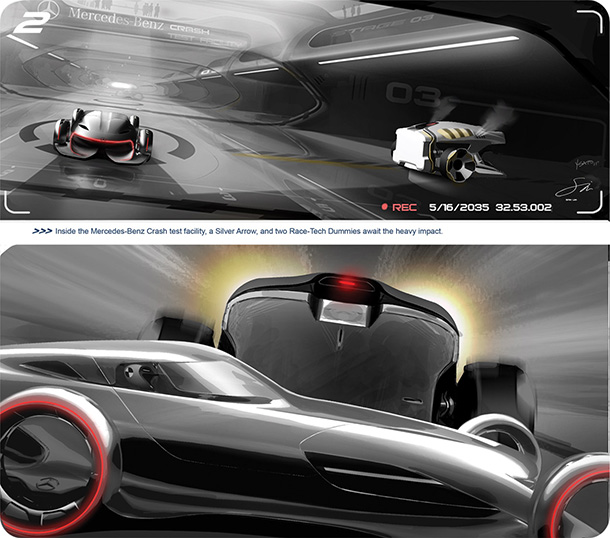 Hollywood's hottest movie cars at the Design Challenge 2011
