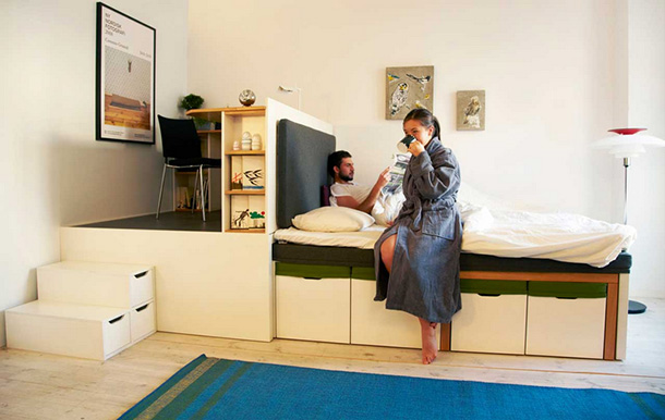 Compact living Matroshka home furniture  Visuall
