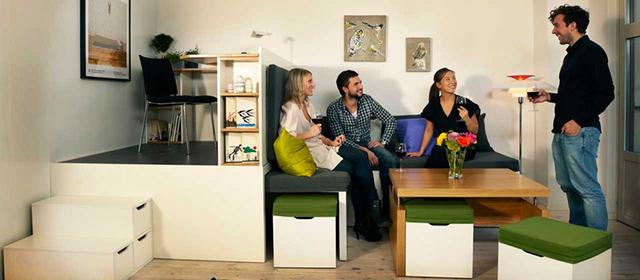 Compact living:: Matroshka - transforming home furniture