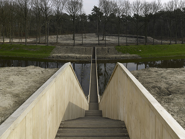 'Moses Bridge' by Ro&Ad Architecten