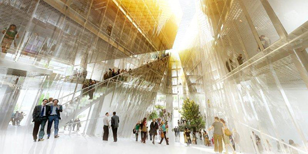 BIG + OFF win the competition to design a research centre in Paris