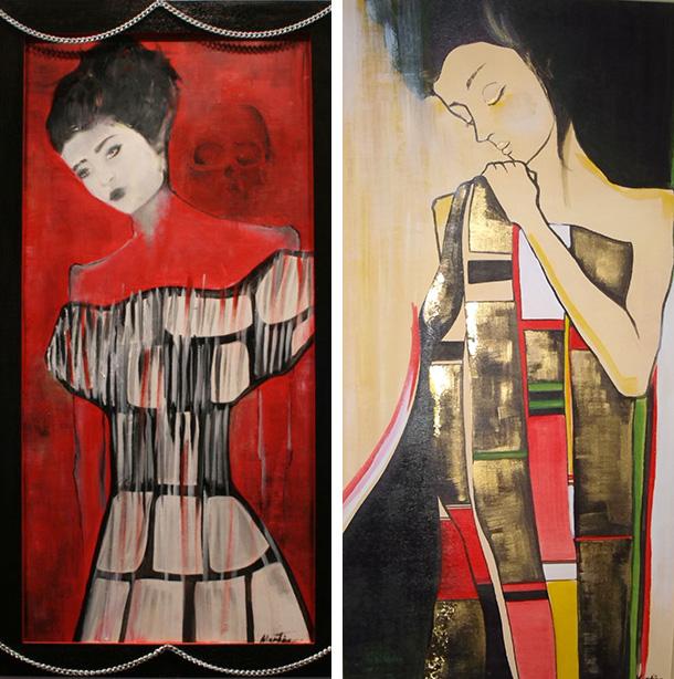 Beautiful paintings by Martina Ermeti