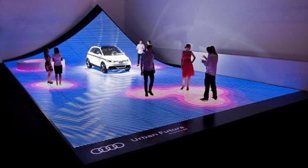 BIG + Audi realize 'URBAN FUTURE' at Design Miami 2011