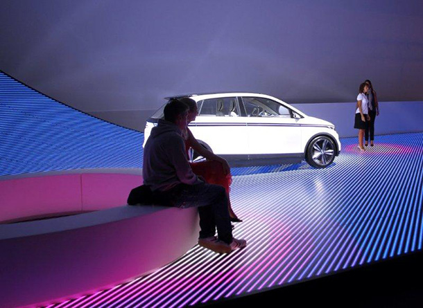BIG + Audi realize 'URBAN FUTURE' at Design Miami 2011