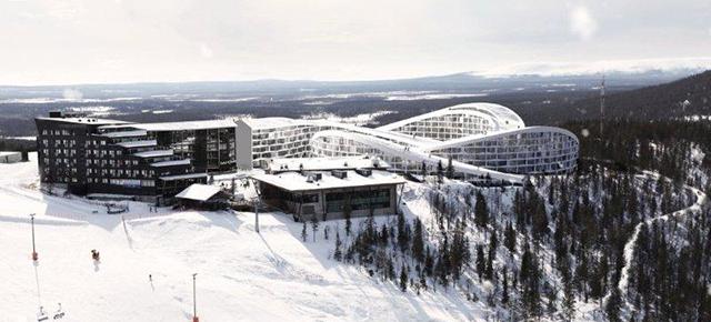 BIG unveils a ski resort in Lapland