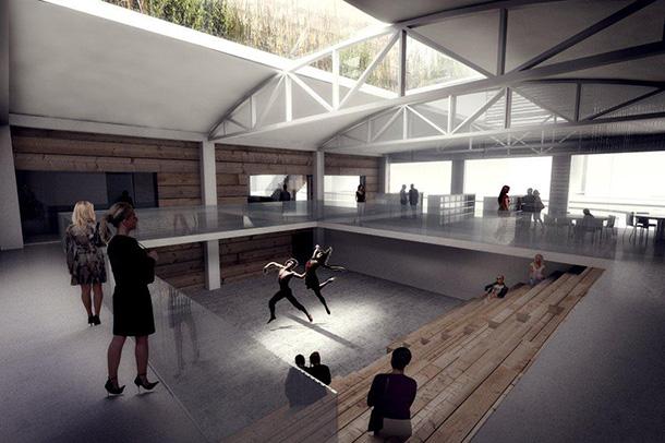 Kimball Art Center in Utah, USA by BIG + Architectural Nexus
