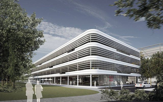 The Trianel GmbH Corporate Center in Aachen by gmp Architekten