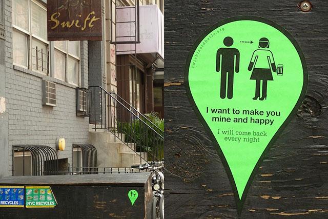 Street art:: 'I Wish I Said Hello' project