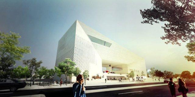 Cultural centre M?CA by BIG & FREAKS freearchitects
