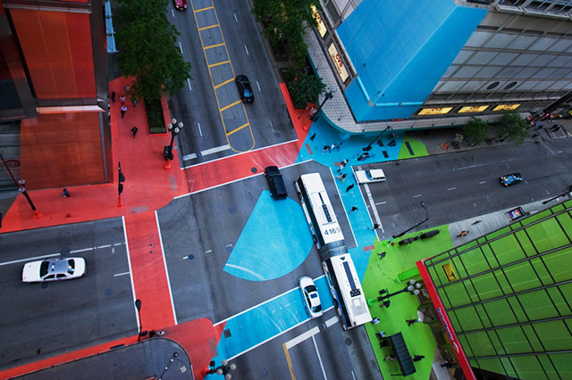 'Color Jam' - colourful installation by Jessica Stockholder