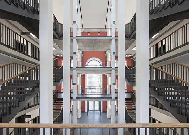 Hamburg-Harburg Technical University by gmp Architekten