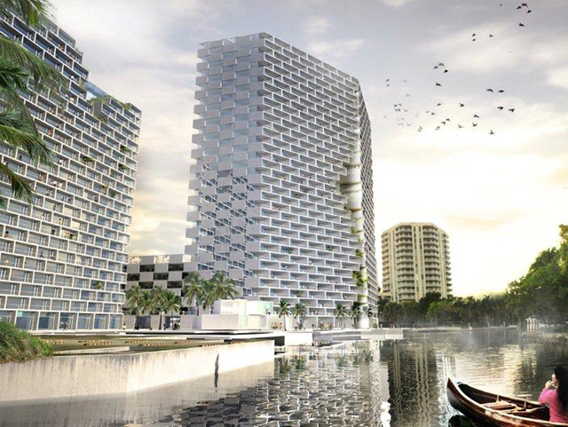 Marina Lofts in Fort Lauderdale by BIG
