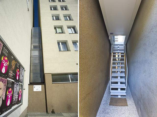 Compact living:: Keret House by Jakub Szcz?sny