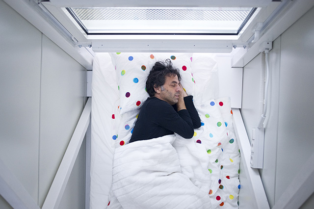 Compact living:: Keret House by Jakub Szcz?sny