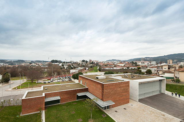 Volunteer Firefighters Barracks of Santo Tirso by ?lvaro Siza Vieira