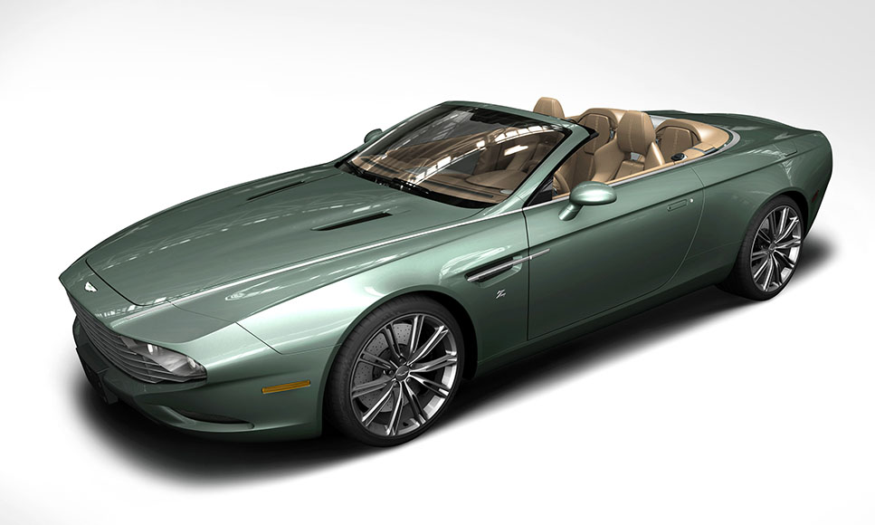 Remarkable Zagato models for Aston Martin's 100th anniversary
