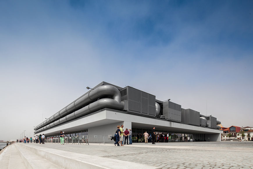 Cultural Center of Viana do Castelo by Eduardo Souto de Moura