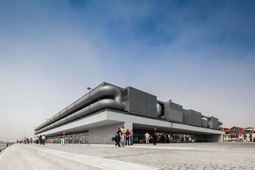 Cultural Center of Viana do Castelo by Eduardo Souto de Moura