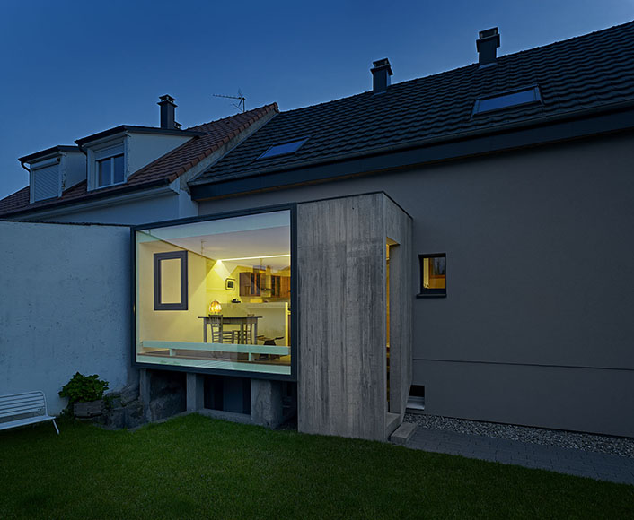 Extension C - renovation project in Saint-Louis by Lo?c Picquet Architecte