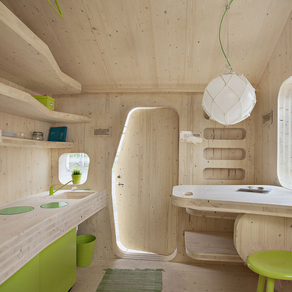 Compact living :: Smart student unit by Tengbom Architects