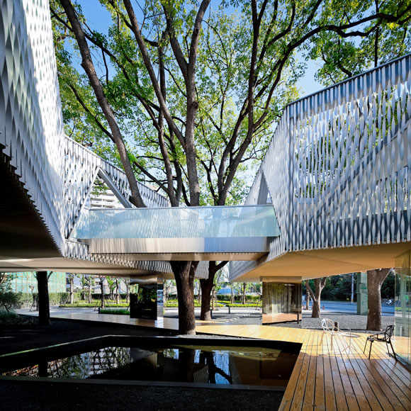 Huaxin Business Center by Scenic Architecture Office