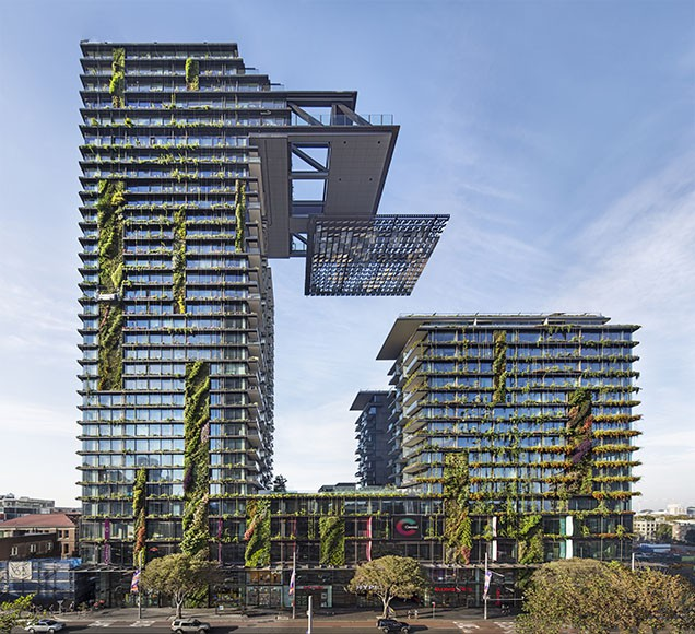 One Central Park in Sydney by Ateliers Jean Nouvel