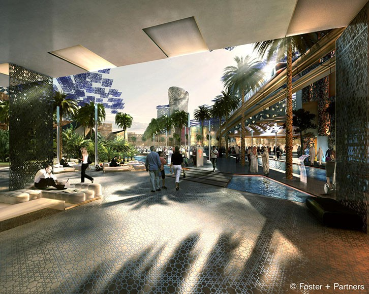 City of the Future:: Masdar City by Foster + Partners