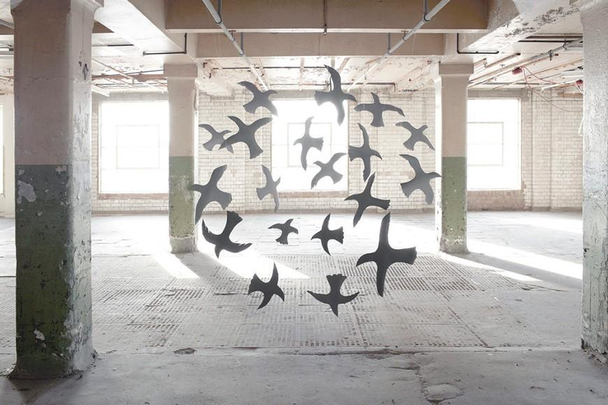 Temporary Installations by Nicola Yeoman