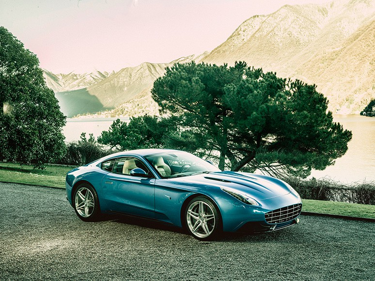 Berlinetta Lusso - classic Italian coupe by Touring Superleggera