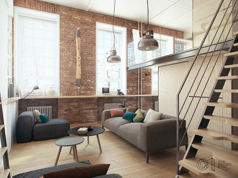 Compact Living:: Harukiu0027s Apartment By The Goort