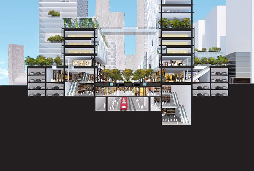 City of the Future:: Great City by Adrian Smith + Gordon Gill Architecture