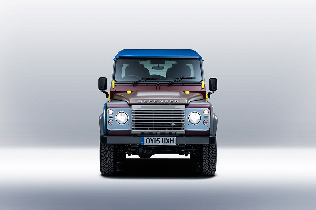Bespoke Land Rover Defender by Paul Smith