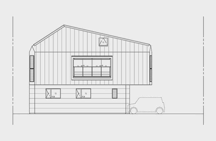Compact Living:: House in Horinouchi by MIZUISHI Architect Atelier