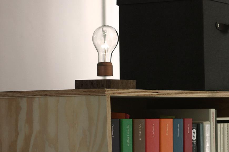 Flyte Levitating Lamp By Simon Morris Visuall