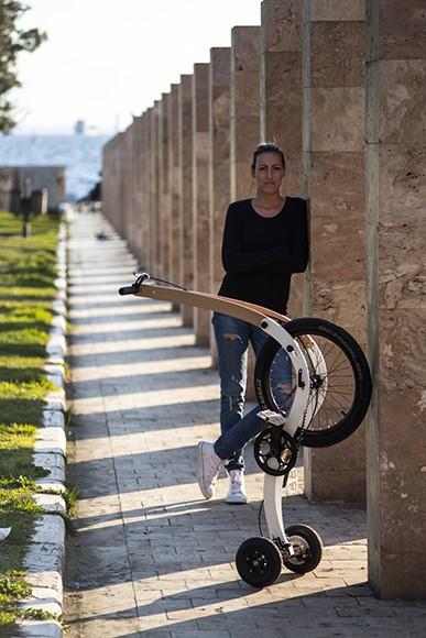 Halfbike II - Compact and Light Tricycle by Kolelinia